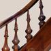 Schody drewniane z innym wypełnieniem